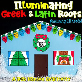 This engaging activity puts a fun holiday-themed spin on learning or reviewing Greek and Latin roots! It also makes a creative bulletin board or school hallway display!