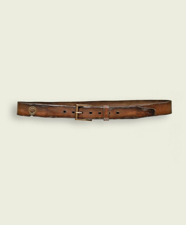Iwo Jima - Leather  Belt High 3,5 cm  100% Made in Italy - Verona  Certified Original Italian Product  Real Leather  Handmade  Vintage Aviation Department  £51