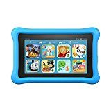 "#10: Fire Kids Edition Tablet, 7"" Display, Wi-Fi, 16 GB, Blue Kid-Proof Case #deals #ad"