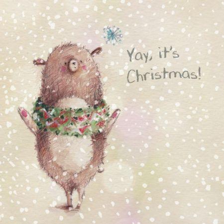 Alice Wong - Blossom_Kato_yay Its Christmas Bear