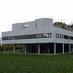 Le Corbusier's Villa Savoye, in Poissy, France, 1928.    So beautiful and still looks modern now.