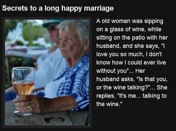 Ahhhahaha!: Wine, Quotes, Long Happy, Funny Stuff, Secret, Humor, Happy Marriage