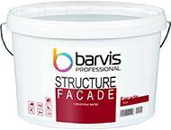 Структурная краска для внутренних и наружных работ Barvis Facade Structure