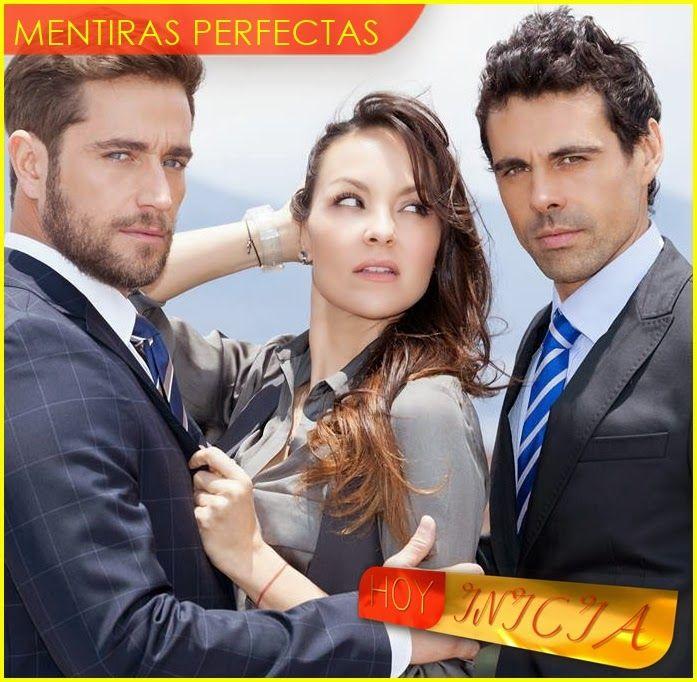 A la pantalla de Caracol Televisión llega el día de hoy Mentiras Perfectas, protagonizada por Carolina Gomez, Michell Brown, Emmanuel Ezparz...