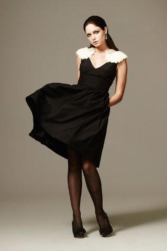 winter gala dress from bhldn