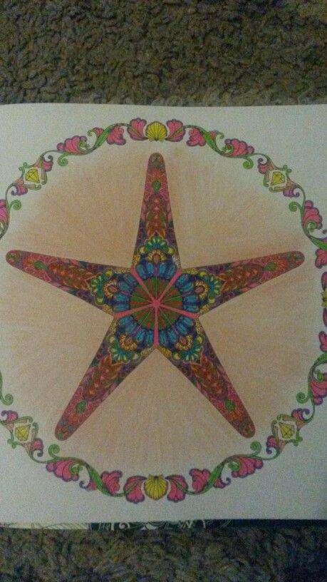 #lostocean #notabadturnout #arttherapymag #colourfulfun