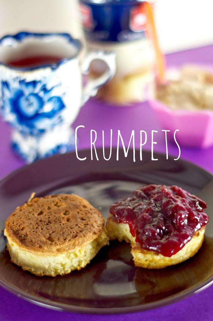 Blinchiki and Crespelle: Crumpets - una colazione tutta britannica!