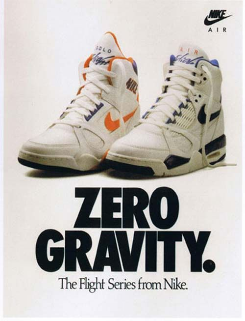 40 Awesome Vintage Nike Sneaker Ads You Don't RememberZero Gravity