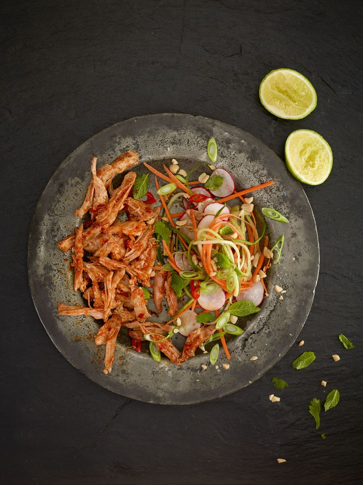 Thai Pulled Pork with Asian Slaw
