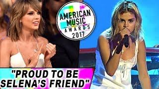 Taylor Swift thought Selena Gomez's performance at the AMAs was downright 'courageous.' Find out how inspired Taylor is by Selena's return to performing live. Report By Korak Roy. Edited By Advait Pansare. Footage Courtesy Splash News Subscribe now and watch more Hollywood Entertainment News at ...
