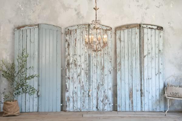 old barn doors...