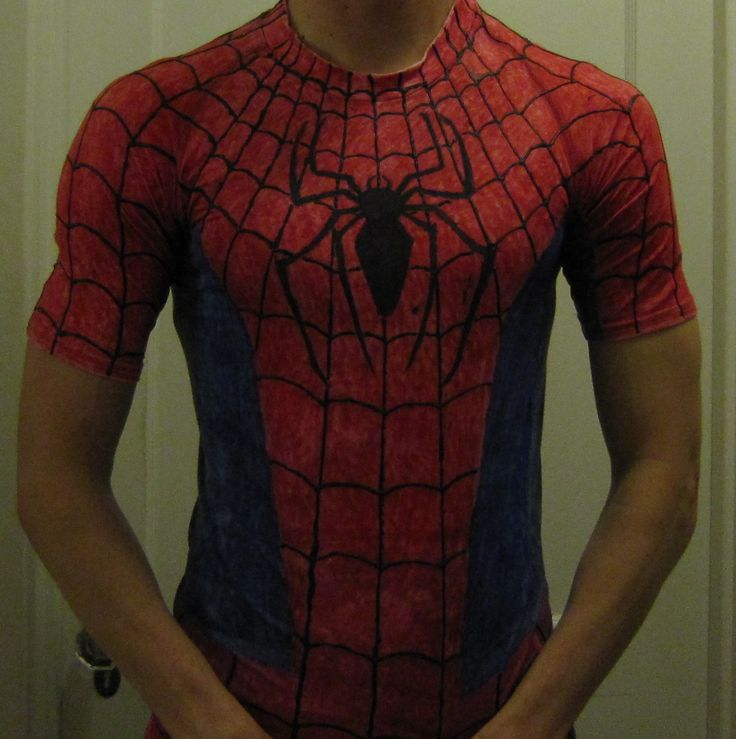 Chuck Does Art: DIY (do it yourself) Costume: Spider-Man