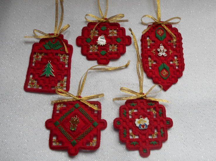Hardanger Ornaments