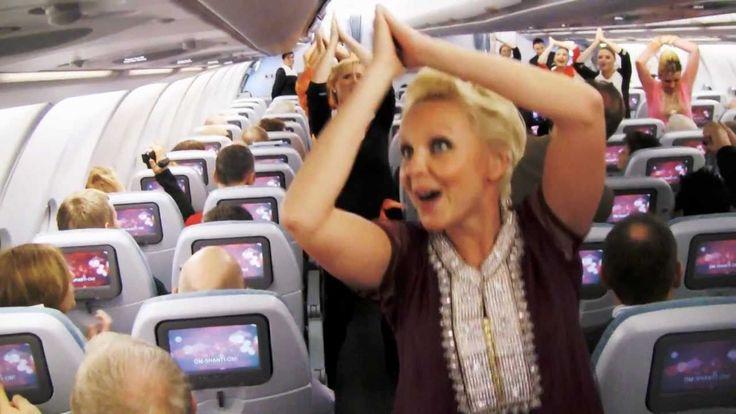 Crewiser.com: Surprise Dance on Finnair Flight to celebrate India's Republic Day