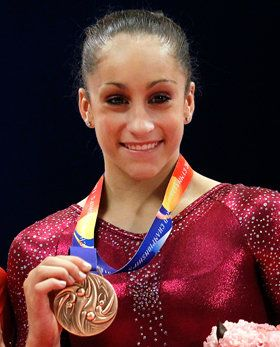 Gymnast Jordyn Wieber is headed to the London games!! Shes such a badass I watched her thru the qualifying rounds!!