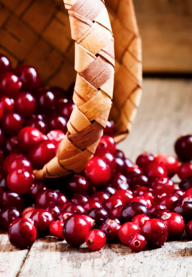 Cranberry oil skincare