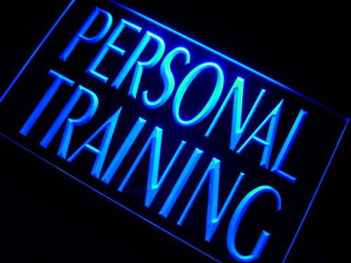Personal Training Gym Trainer Neon Light Sign