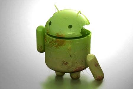 Android destroyed!