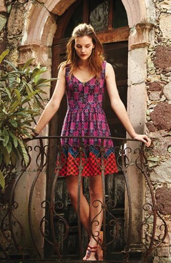 Love this patterned dress! http://rstyle.me/n/ip2bdnyg6