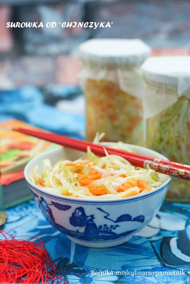 Chinese salad for the winter