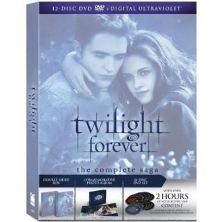 Twilight Forever: The Complete Saga - Twilight / New Moon / Eclipse / Breaking Dawn - Parts One And Two (Widescreen)