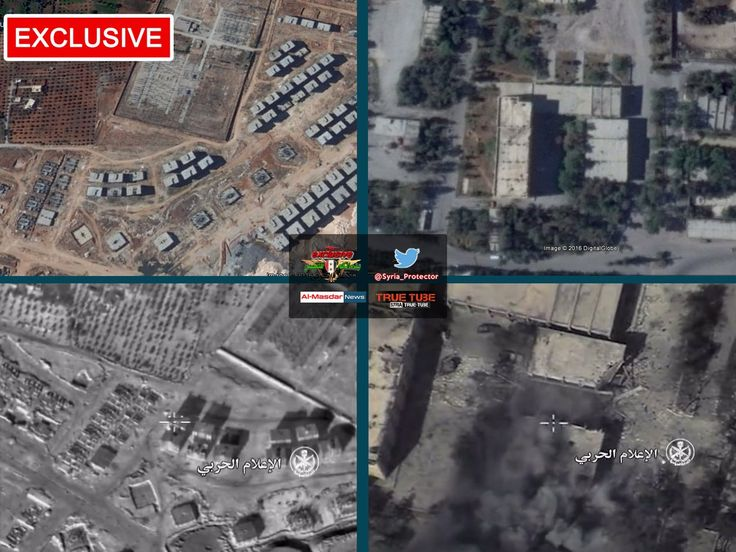 EXCLUSIVE air footage of 🇸🇾#SyAAF #airstrikes targeting militant positions in #Ramousah District in SW #Aleppo...