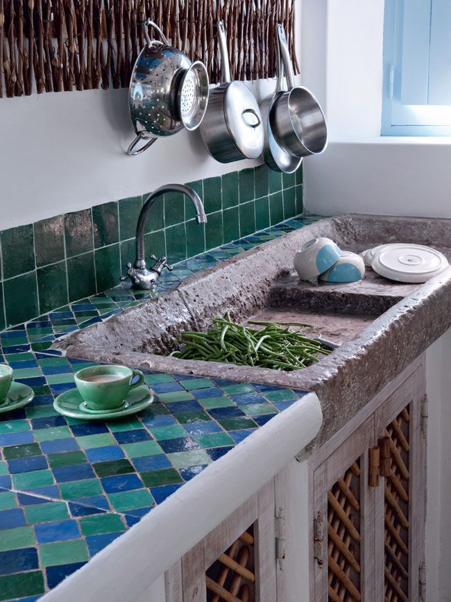 Küchenbilder: 15 Küchen im Stil der Südseite   – Billie