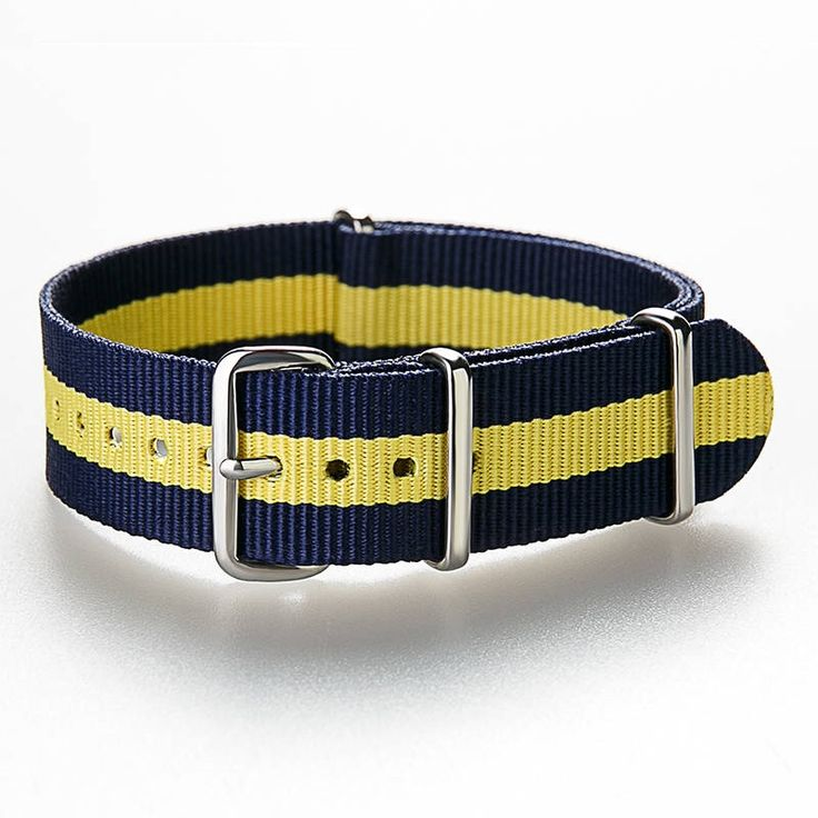 "NATO Strap ""SCANDINAVIA"" Classic Bond Nylon Watch Strap 18 mm - 20 mm, Nato strap, Nato Band,  Nylon strap by ClueAuthenticBrand on Etsy https://www.etsy.com/listing/553819663/nato-strap-scandinavia-classic-bond"