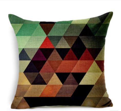 Quality Cotton Linen cushion covers, inspired by modern abstract design.•Cotton Linen cushion covers (insert not included) •Size: 45cm x 45cm •Sleek invisible zipper •Pattern on one side, no print on reverse •Weight: 180g •Ideal for your living room, bed room & home decor   http://ozurban.com/collections/cushion-covers/products/kaleidoscope-design-cushion-covers #cushions #cushioncovers #homedecor #interiordesign #abstract