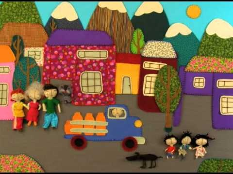 Stop Motion video with arpilleras