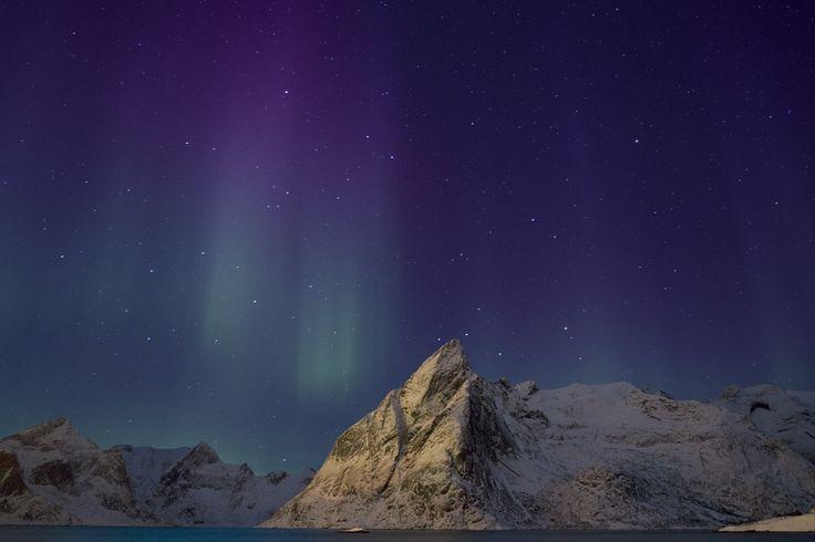 Northern lights, Hamnoy. by Richard McManus on 500px