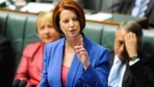 MY latest heroine!  Gillard labels Abbott a misogynist!  You go girl!