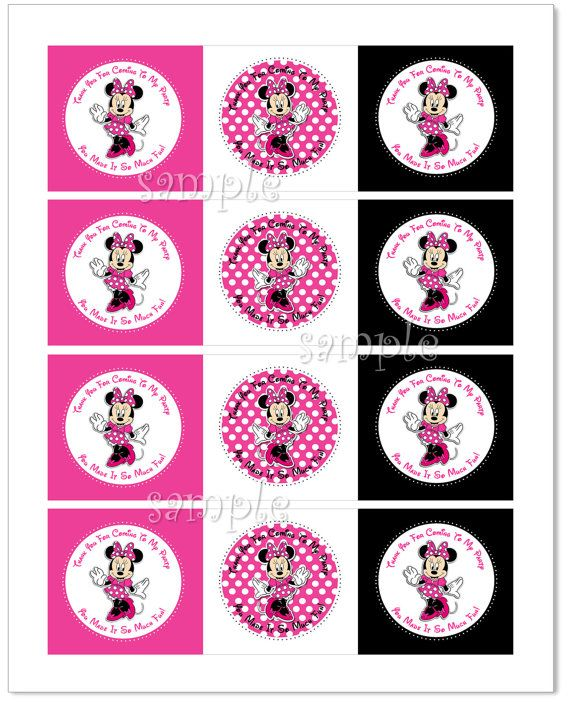 25+ best Minnie mouse stickers ideas on Pinterest | Minnie ...
