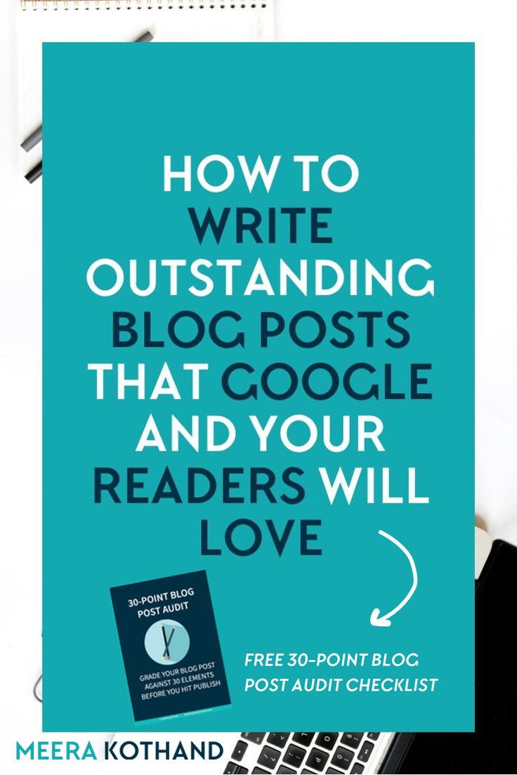 Want a checklist to write outstanding blog posts every single time? Ask yourself these 30 questions before you hit publish to prime your post for more likes, shares and engagement. Need a You absolutely have to do #7!