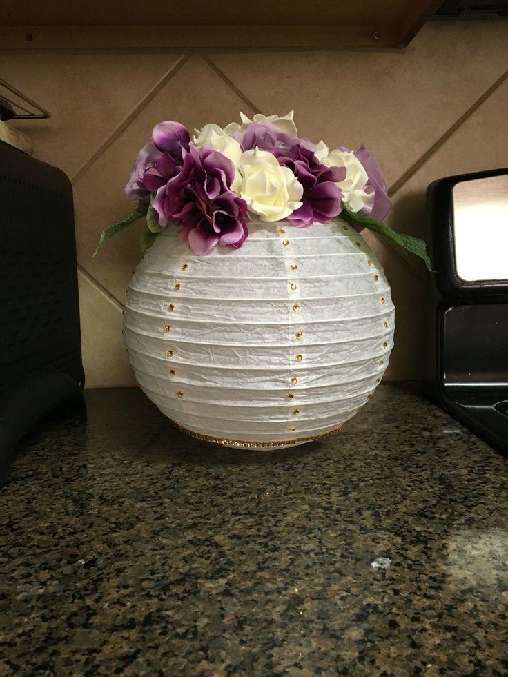 Best paper lantern centerpieces ideas on pinterest