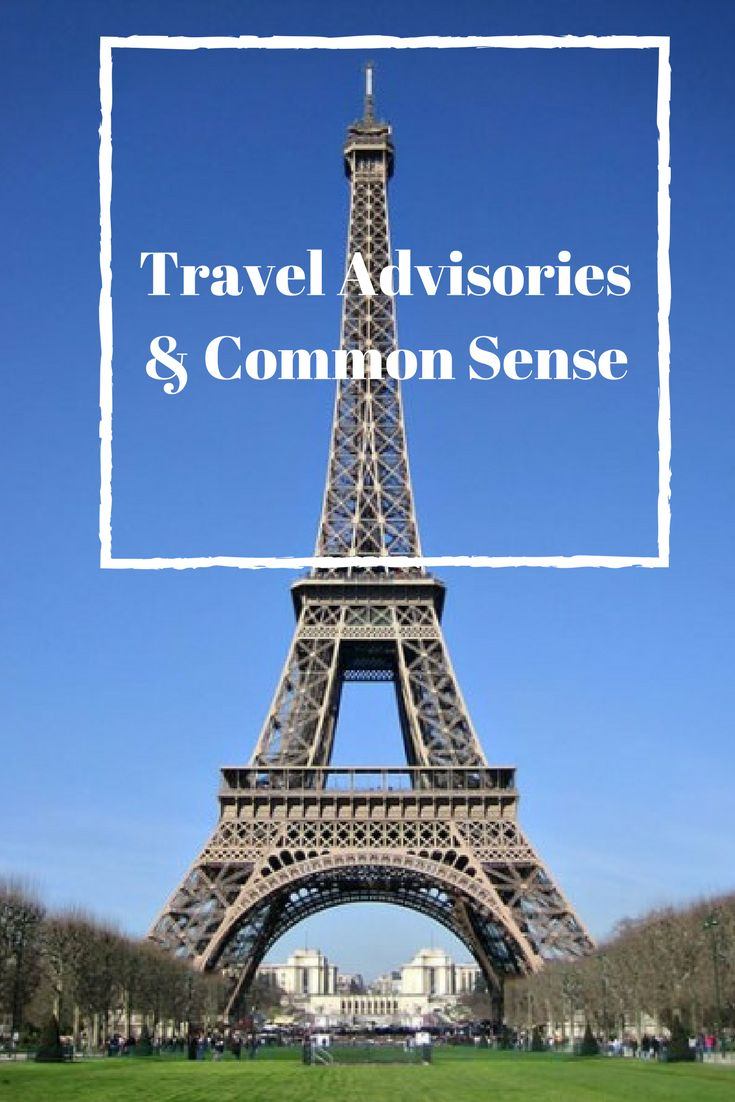 When it comes to travel advisories, will we give in to fear or let common sense prevail?  #TBIN #travel