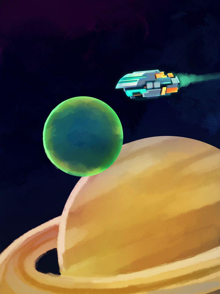 The Ambassador - Galactic Echoes Spaceship