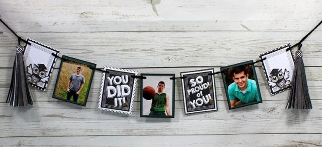 Use Creative Memories Achievements Collection for graduation party decor and…