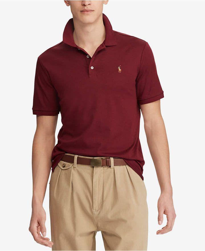 Men S Classic Fit Soft Touch Cotton Polo Ralphlaurenwomensclothing Polo Ralph Lauren Men Ralph Lauren Womens Clothing Polo Ralph Lauren Polo Ralph Lauren Mens