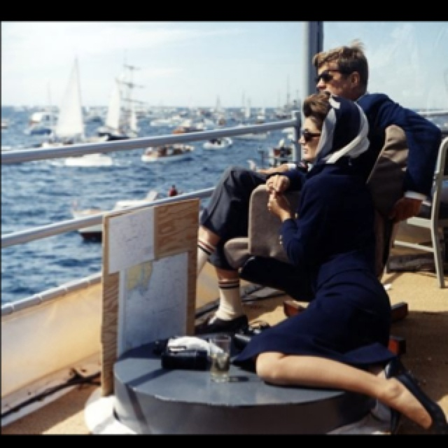 The Kennedys. Navy has never looked better.