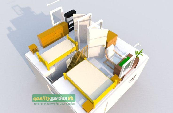 """""""Aneta"""" 50 m² - Domek narzędziowy - domki ogrodowe - sauny ogrodowe   Taniobudujemy.pl"""