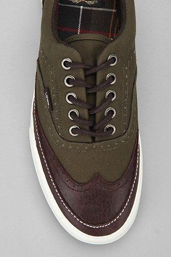 Vans x Barbour Era Brogue Sneaker from UO, on sale for $70  (Oh my!  Sold out, but I love the style!)