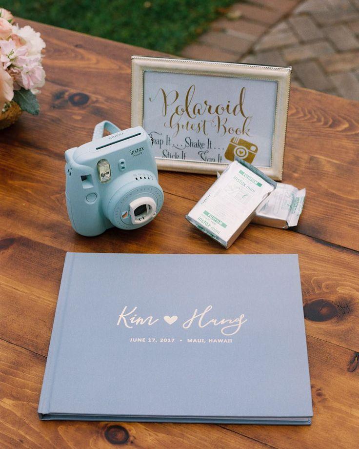 Love | Dusty Blue Wedding Guest Book