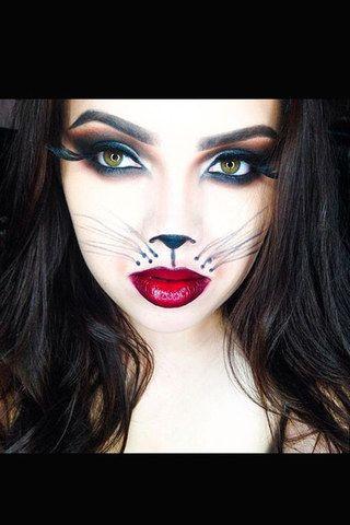 als katze geschminkt