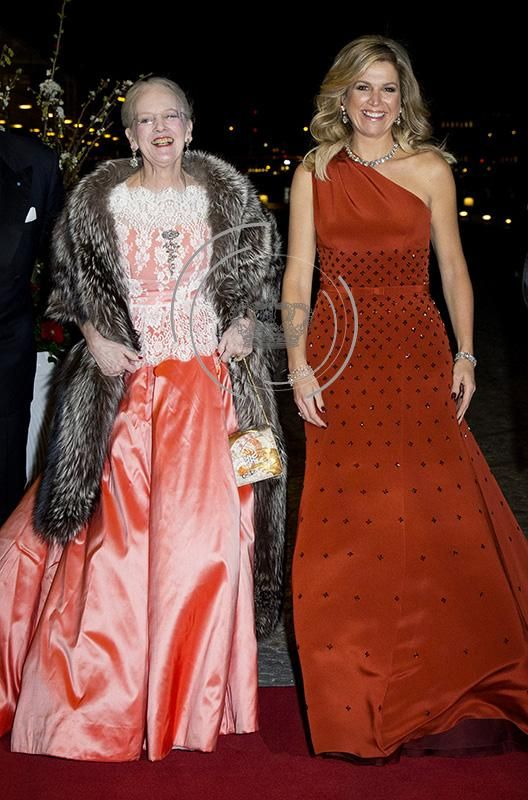 Dutch King Willem-Alexander and Queen Maxima present Danish royal family cultural evening in Copenhagen