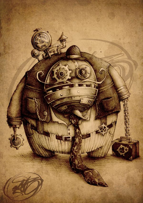 1000 images about steampunk on pinterest gnome mobile for Steampunk story ideas