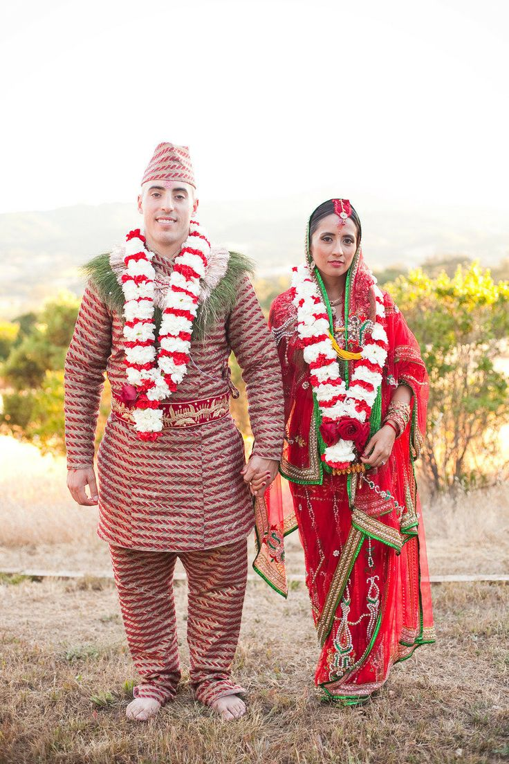 1000 images about wedding nepali on pinterest for Wedding dress nepali culture