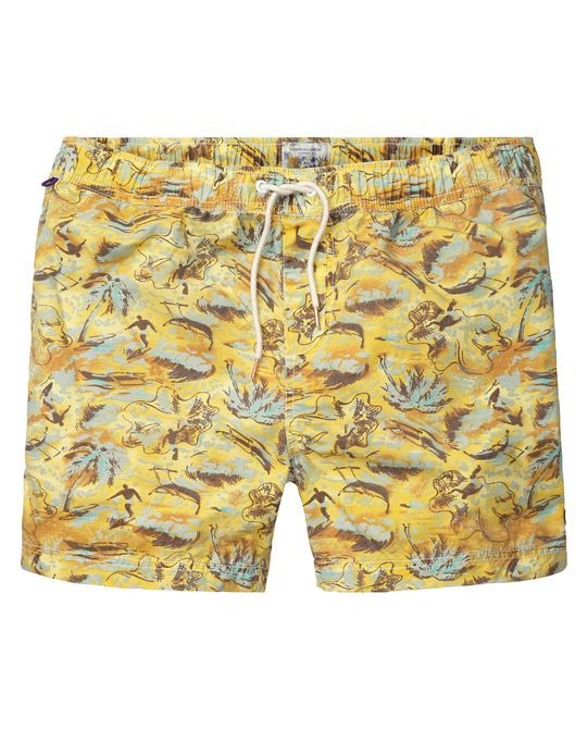 Retro swim shorts with Hawaiian print: http://webstore-all.scotch-soda.com/men/mens-swim-shorts/retro-swim-shorts-with-hawaiian-prints/14010484258.html?dwvar_14010484258_color=dessin%20A