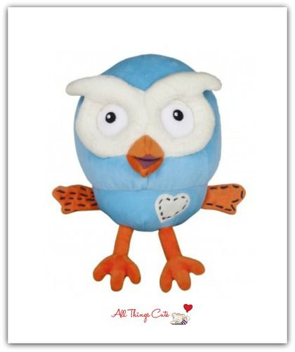 For Kids: Hoot Beanie Plush Toy  #giggleandhoot #owls