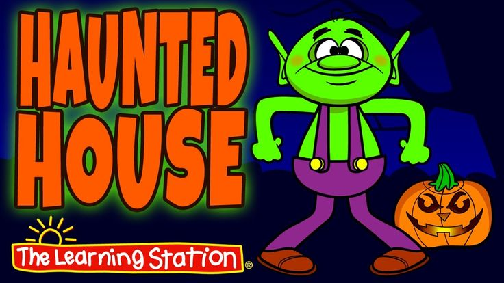 "♫ ""Haunted House"" is a fun Halloween dance song that your children will love! Children explore a Halloween (not so scary) haunted house with a friendly dancing goblin, skeleton, werewolf and vampire. Your little trick-or-treaters will enjoy this Halloween dance song filled with silly actions and spooky fun! This song is ideal for preschool through lower elementary children. Also, this Halloween dance song is perfect for school assemblies, family nights and children's performances."